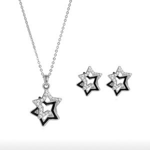 Stars Necklace & Earrings